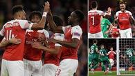 Aubameyang rực sáng và Top 5 điểm nhấn không thể bỏ lỡ khi Arsenal đè bẹp Vorskla