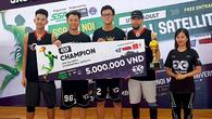 CDunk lên ngôi vô địch đầy thuyết phục giải 3x3 Satellite
