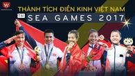 Infographic: Điền kinh VN vượt Thái Lan với số HCV kỷ lục SEA Games