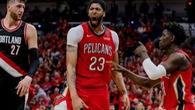 Davis và Holiday ghi tổng 88 điểm, Pelicans quét bay Portland 4-0