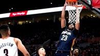 Kết quả NBA Play-Off 15/04: Pelicans cướp game 1 sân khách, Heat thua bạc nhược