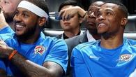 """Biệt danh """"Playoff P"""" bí ẩn với các đồng đội Westbrook và Anthony"""
