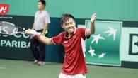 Hoàng Nam lập nên cột mốc lịch sử cho quần vợt Việt Nam