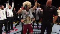 Khabib Nurmagomedov trở thành tân vương hạng Lightweight UFC