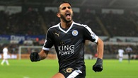 Swansea 0-3 Leicester: Lên đỉnh với người hùng Mahrez