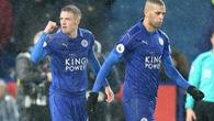 Video: Vardy lập Hat-trick, Leicester hạ đo ván Manchester City