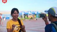 Nhà văn Trang Hạ: Nếu hoàn thành marathon tôi sẽ giải nghệ