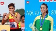 Nữ hoàng tốc độ Vũ Thị Hương phấn khích vì thành tích của Tú Chinh, Quách Công Lịch