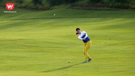 """Chùm ảnh: Các nữ golfer """"quần thảo"""" nhau giữa cái nắng 38 độ C"""