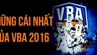 Infographic: Những cái nhất của VBA 2016