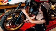 Người đẹp Sài Thành quyến rũ bên dàn siêu môtô Ducati