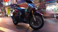 Thêm 01 chiếc Honda SH độ thụt hành trình ngược Ohlins tại Hà Nội