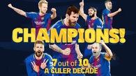 5 con số khó tin trên hành trình chinh phục La Liga của Barcelona