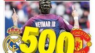 Chuyển nhượng ngày 13/1: MU chuẩn bị 500 triệu euro cho Neymar