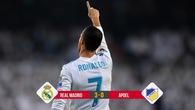 Kết quả bóng đá: Ronaldo ghi bàn 107 ở Champions League giúp Real đè bẹp APOEL