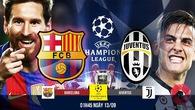 Link xem trực tiếp trận Barcelona - Juventus