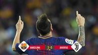 Kết quả bóng đá: Messi lập cú đúp giúp Barca đè bẹp Juventus