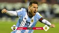 Video: Người hùng Messi lập hat-trick đưa Argentina đến World Cup