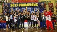 Gala tổng kết VBA 2017: Thang Long Warriors khép lại mùa giải mỹ mãn