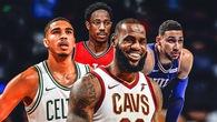 NBA: Lần đầu tiên Miền Đông vượt Miền Tây kể từ mùa giải 1996-97