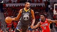 Thống trị hoàn toàn Pelicans, Durant đưa Warriors lên dẫn 3-1
