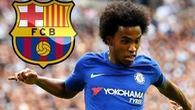 Chuyển nhượng ngày 26/8: Willian từ chối gia nhập Barcelona