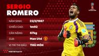 Thông tin cầu thủ Romero của ĐT Argentina dự World Cup 2018