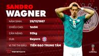 Thông tin cầu thủ Sandro Wagner của ĐT Đức dự World Cup 2018