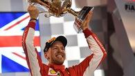 Bahrain GP 2018: Vettel thăng hoa trong ngày Ferrari gặp vận rủi