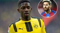 Mua Dembele với giá kỷ lục giúp Barca gia hạn hợp đồng với Messi