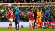 Video: Thua sốc Nottingham, Arsenal thành cựu vương FA Cup