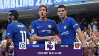 """Morata và """"băng đảng"""" TBN giúp Chelsea nghiền nát West Ham?"""