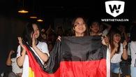 Chuyện 2 dì cháu người Vĩnh Long thuê xe lên Sài Gòn cổ vũ tuyển Đức