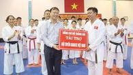 Đội tuyển Karatedo nhận hơn 100 triệu trước thềm SEA Games 29