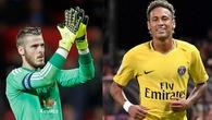 Chuyển nhượng ngày 9/9: Perez đặt chỉ tiêu giành De Gea và Neymar