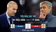 Đốt tiền nhiều Mourinho có săn được Siêu Cúp châu Âu như Zidane?