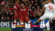 Link xem trực tiếp bóng đá C1 trận Sevilla - Liverpool