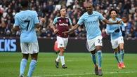 Video: Man City liên tiếp xô đổ các kỷ lục khi vùi dập West Ham