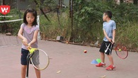 T? v?n cách ch?n v?t Tennis cho tr? em