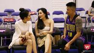 Bạn gái Hoa hậu của Chong Paul lần đầu lộ diện ở VBA