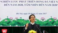 Phó Thủ tướng Vũ Đức Đam chất vấn Trưởng Ban trọng tài VFF
