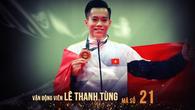 ƯCV hạng mục VĐV nam của năm - Cúp chiến thắng 2017: Lê Thanh Tùng