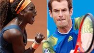 Vòng 3 Italian Open: Murray và Serena cẩn tắc vô áy náy