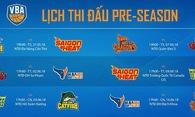 Công bố lịch thi đấu Preseason VBA 2018