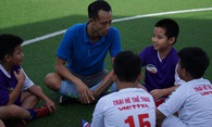 """Thành """"kếu"""" dẫn dắt đội U11 tham dự giải trẻ toàn quốc"""