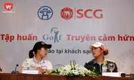 Hai chị em Thái Lan đến Việt Nam truyền cảm hứng cho các golfer trẻ