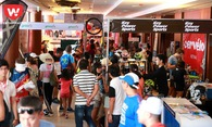 """Hàng trăm triathlete nô nức """"đi chợ"""" EXPO tại Ironman Vietnam 2018"""