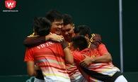 Vỡ òa cảm xúc khi quần vợt Việt Nam lọt vào nhóm II Davis Cup