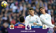 Ronaldo chinh phục Siêu kinh điển ở Nou Camp với số bàn kinh ngạc