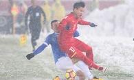 Mẹ Vũ Văn Thanh xót đứt ruột khi U23 Việt Nam đá bóng...tuyết